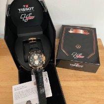 Tissot T-Race подержанные Черный Каучук