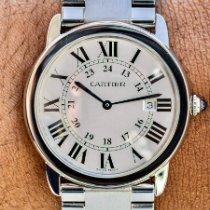 Cartier Ronde Solo de Cartier Steel 36mm Silver Roman numerals United States of America, Texas, Plano