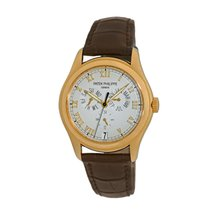 Patek Philippe Yellow gold Automatic Roman numerals 37mm pre-owned Annual Calendar