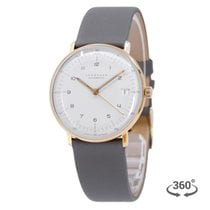 Junghans max bill Automatic Gold/Steel 34mm White Arabic numerals