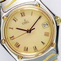 Ebel Sport Guld/Stål 26mm Perlemor Romertal