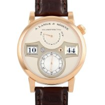 A. Lange & Söhne Zeitwerk Rose gold 41.9mm Silver United States of America, Pennsylvania, Southampton