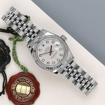 Rolex Lady-Datejust brugt 26mm Hvid Stål