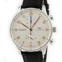 IWC Portuguese Chronograph Silver