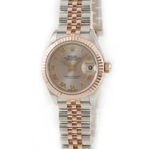 Rolex Red gold Automatic pre-owned Lady-Datejust