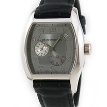 Girard Perregaux White gold Automatic Grey pre-owned Richeville