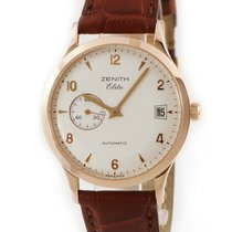 Zenith Red gold Automatic Silver pre-owned
