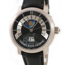 Pierre Kunz White gold Automatic Black pre-owned