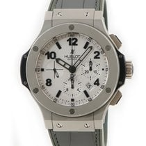 Hublot Automatic Silver pre-owned Big Bang 44 mm