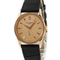 Patek Philippe Red gold Manual winding Gold pre-owned Calatrava
