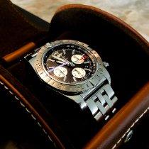Breitling Chronomat 44 GMT Acier 44mm Noir Sans chiffres