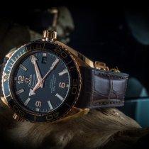 Omega Pозовое золото Автоподзавод Коричневый 39.5mm новые Seamaster Planet Ocean