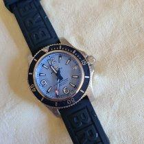 Breitling Superocean Steel 36mm Blue Arabic numerals