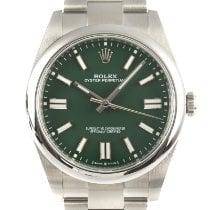 Rolex Oyster Perpetual новые 2021 Автоподзавод Часы с оригинальными документами и коробкой 124300