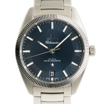 Omega Globemaster Steel 39mm Blue
