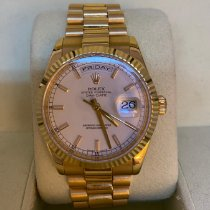 Rolex Day-Date 36 Yellow gold 36mm White United Kingdom, London
