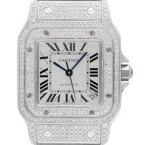 Cartier Santos Galbée neu 2019 Handaufzug Nur Uhr W20098DX