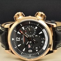 Jaeger-LeCoultre Master Compressor Geographic Rose gold 42mm Black Arabic numerals