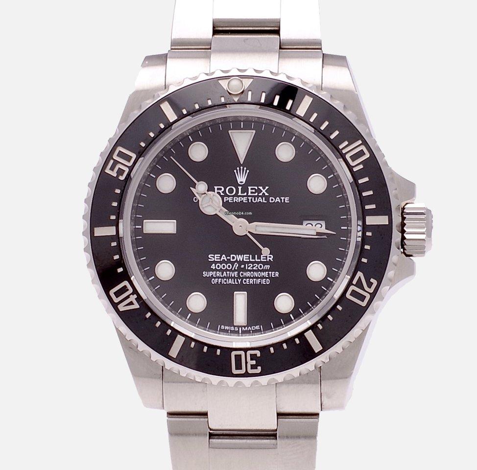 Rolex Sea-Dweller 4000 4000 2014 подержанные