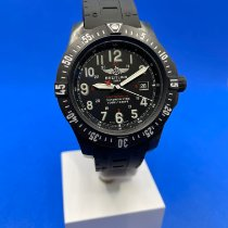Breitling Carbon Quartz Black 45mm pre-owned Colt Skyracer