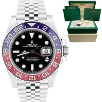 Rolex Steel GMT-Master II 40mm pre-owned United States of America, New York, Massapequa Park
