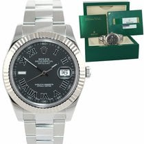 Rolex Datejust II Steel 41mm Grey Roman numerals United States of America, New York, Huntington