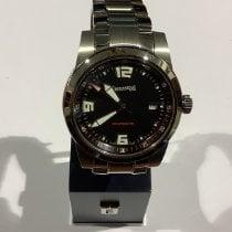 Eberhard & Co. Scafo new 2009 Automatic Watch with original box and original papers 41026 CA ACIER