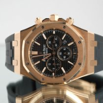 Audemars Piguet Royal Oak Chronograph Rose gold 41mm Black No numerals United Kingdom, Newcastle Upon Tyne
