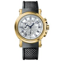 Breguet new Automatic 42mm Yellow gold Sapphire crystal