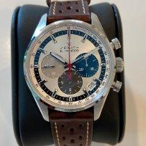 Zenith El Primero Original 1969 Steel 38mm Silver No numerals