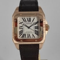 Cartier Or rose 33mm Remontage automatique W20108Y1 occasion