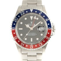 Rolex GMT-Master II Stål 40mm Sort
