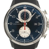 IWC Portuguese Yacht Club Chronograph Steel 45.5mm Black