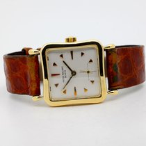 Patek Philippe Hour Glass Yellow gold 27mm Silver No numerals