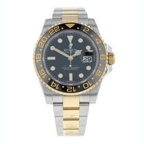 Rolex GMT-Master II 116713LN Good Gold/Steel 40mm Automatic