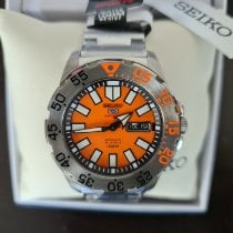 Seiko Monster Steel Orange