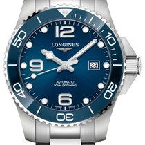 Longines HydroConquest Steel 43mm Blue