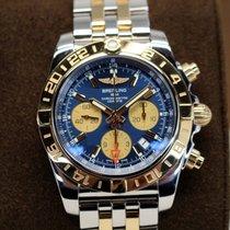 Breitling Chronomat 44 GMT Gold/Steel Blue United States of America, Massachusetts, West Boylston