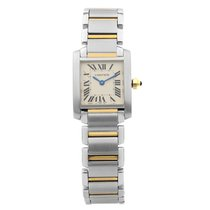 Cartier Tank Française Steel 20mm Silver Roman numerals United States of America, New York, NYC