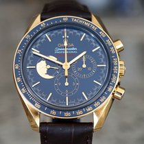 Omega Speedmaster Professional Moonwatch Yellow gold 42mm Blue United States of America, Massachusetts, Boston