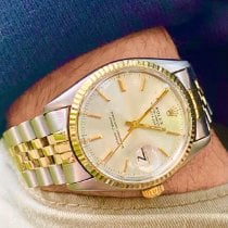 Rolex Datejust Gold/Steel 36mm Silver No numerals United States of America, Florida, Pembroke Pines