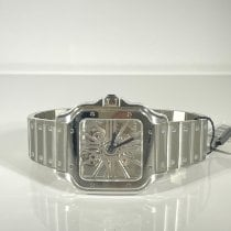 Cartier Santos (submodel) Steel 39.8mm Transparent Roman numerals United States of America, Florida, Miami