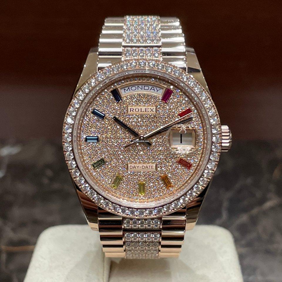 Rolex Day-Date 36 128345RBR 2021 nuevo