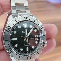 Seiko Prospex Steel 42mm Black No numerals Thailand, Pattaya