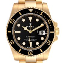 Rolex 116613 Yellow gold 2007 Submariner Date 40mm pre-owned United States of America, Georgia, Atlanta