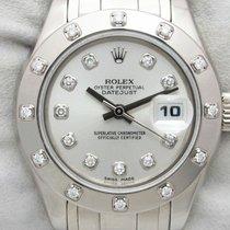 Rolex Lady-Datejust Pearlmaster Oro bianco 29mm Argento Senza numeri Italia, Pieve Di Cento BOLOGNA