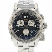 Breitling Emergency Steel 45mm Black Arabic numerals