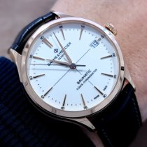 Baume & Mercier Rose gold Automatic White No numerals 39mm new Clifton