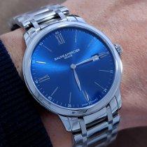 Baume & Mercier Classima Steel 40mm Blue Roman numerals