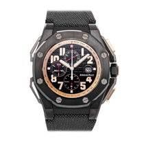 Audemars Piguet Royal Oak Offshore Chronograph Керамика 48mm Черный Aрабские